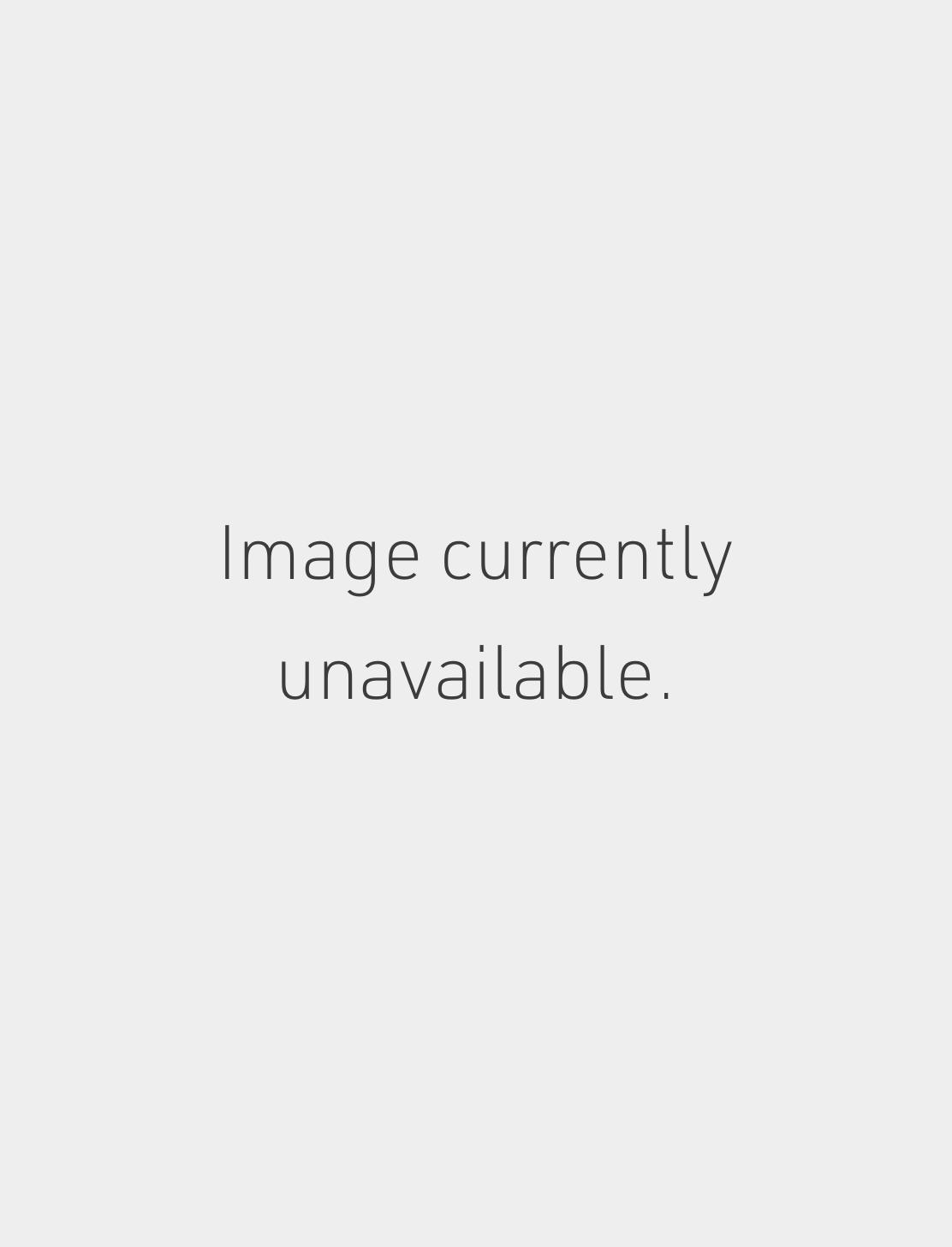 Med. Matte Skull with Black Diamond Eyes Tash Thread Image #1