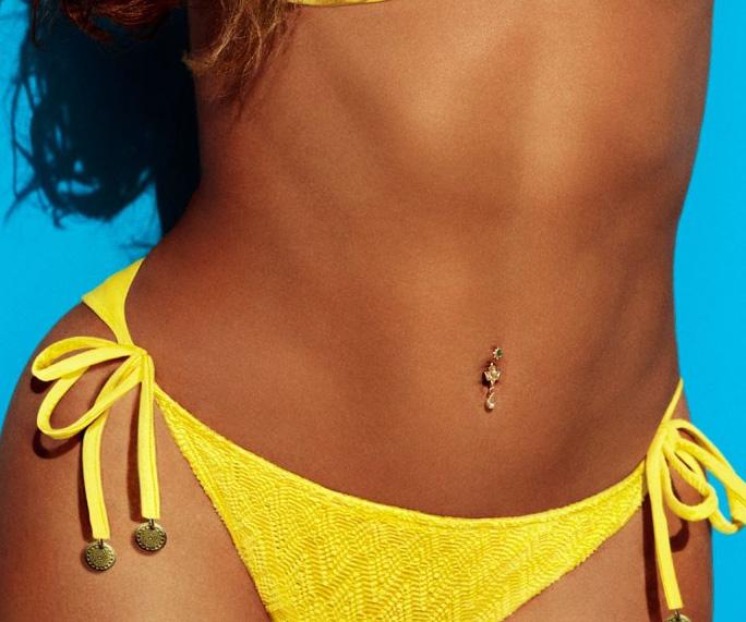 Diamond Navel Jewelry