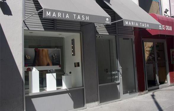 Maria Tash storefront
